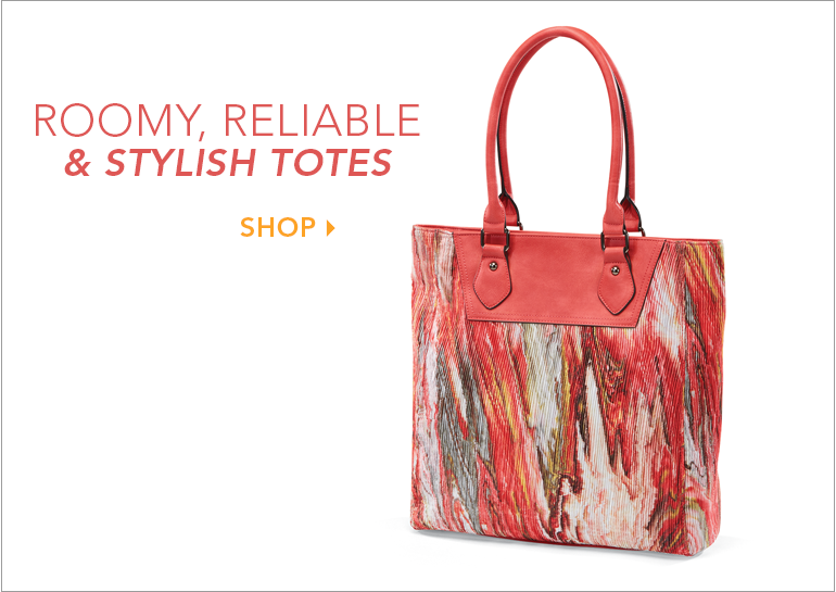 Roomy, Reliable & Stylish Totes - Shop Totes Featuring Watercolor Tote