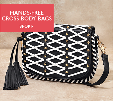 Sasy Hands-Free Crossbody Bags  - Shop Crossbody Featuring Whipstitch Saddle Crossbody