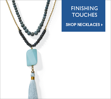 Finishing Touches - Shop Necklaces Featuring Stone/Wooden Bead Necklace