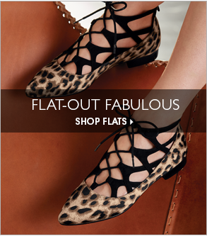 Flat-Out Fabulous  - Shop Flats Now Featuring Criss Cross Ballerina