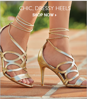Chic, Dressy Heels - Shop Heels Featuring Tie-Wrap Heeled Sandal