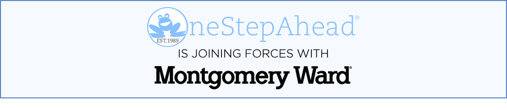 One Step Ahead is joining forces with Montgomery Ward