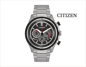 Shop Men's Jewelry Featuring Men's Super Titanium Eco-Drive Watch by Citizen