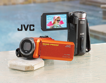 Shop Cameras & Camcorders, featuring All-Weather Full 1080p Camcorder by JVC