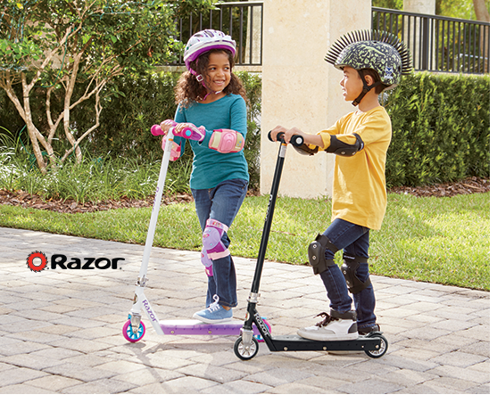 Shop Outdoor Play, featuring Lit Scooter by Razor