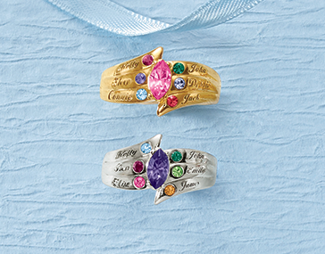 Shop Personalized Gifts, featuring Family/Name Ring