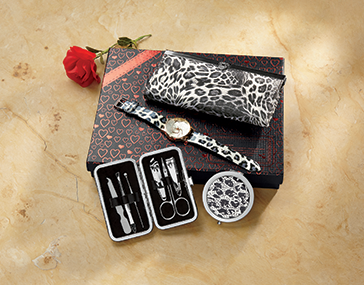 Shop Personal Care, featuring White Leopard-Print Gift Set