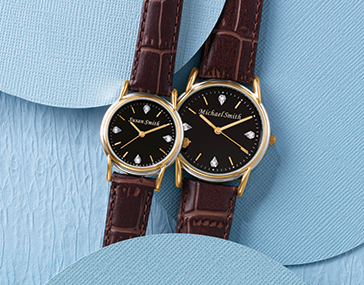 Shop Watches, featuring Black/Name Watch