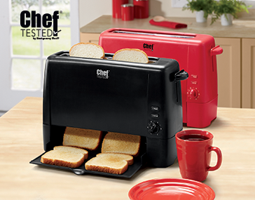 Shop Toasters & Ovens, featuring Chef Tested® Toast 'N Serve by Montgomery Ward