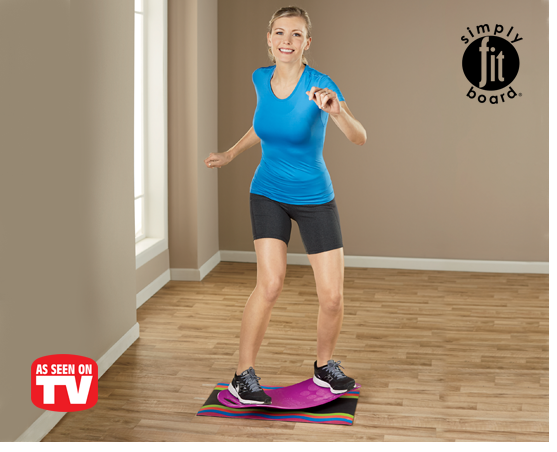 Shop Fitness Equipment, Featuring Simply Fit Board