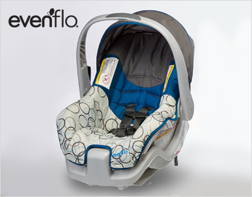 Shop Travel & Gear, Featuring Nurture Infant Car Seat by Evenflo