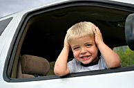 Child in Car