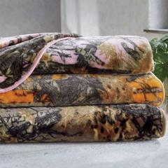 Camo Plush Blanket - Shop Blankets & Throws