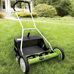 20-Inch Reel Manual Mower with Clippings Bag - Shop Lawn and Garden
