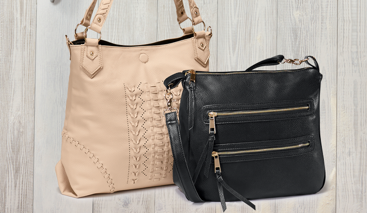 Shop Fashion Handbags, Featuring Whipstitch Tote with Removeable Crossbody