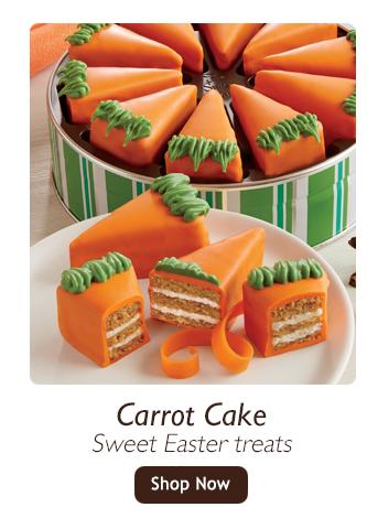 Carrot Cake-Sweet Easter treats-