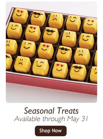 Seasonal Treats-Available through May 31-