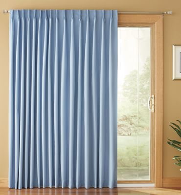 Color Connection Pinch Pleat Patio Panels By Montgomery Ward