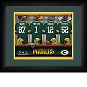 Personalized NFL Locker Room Print