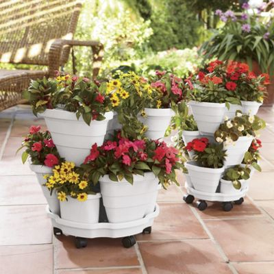 Tiered Pots
