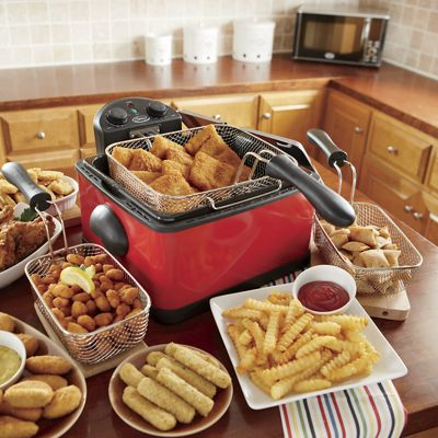 Ginny's Brand Deep Fryer with Timer
