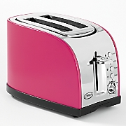 Ginny's Brand 2-Slice Toaster—Indigo and Raspberry
