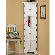 8-Door Corner Cabinet