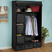 Heavy-Duty Two-Tone Storage Closet Bin