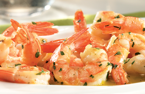 Shop Seafood, featuring Shrimp Scampi