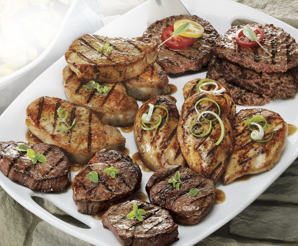 Grill Up a Grand Variety Our premium aged beef stars in all-American grilling assortments! Shop Beef Assortments