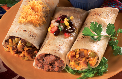 Shop Chicken Specialties, featuring Burrito Fiesta