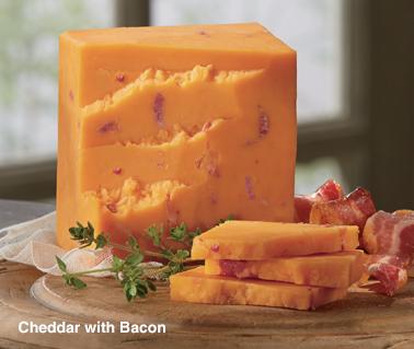 Cheddar with Bacon - Shop Mild Cheddar