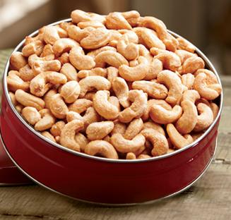 Shop Nuts, featuring Premium Cashews