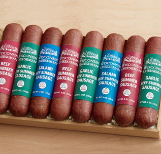 Shop Sausage, featuring Eight of Your Favorite Sausages Gift Assortment